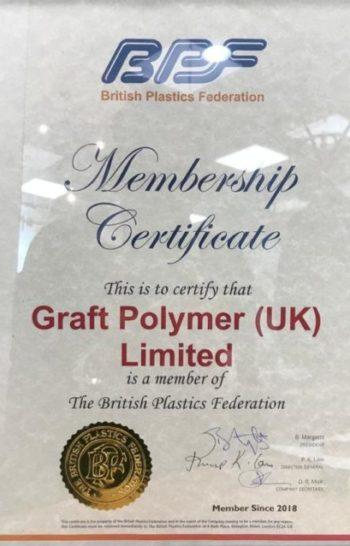 BPF certificate